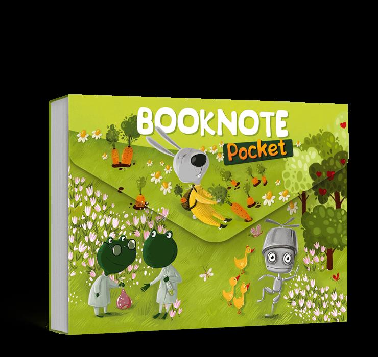 Pocket Booknote зелений